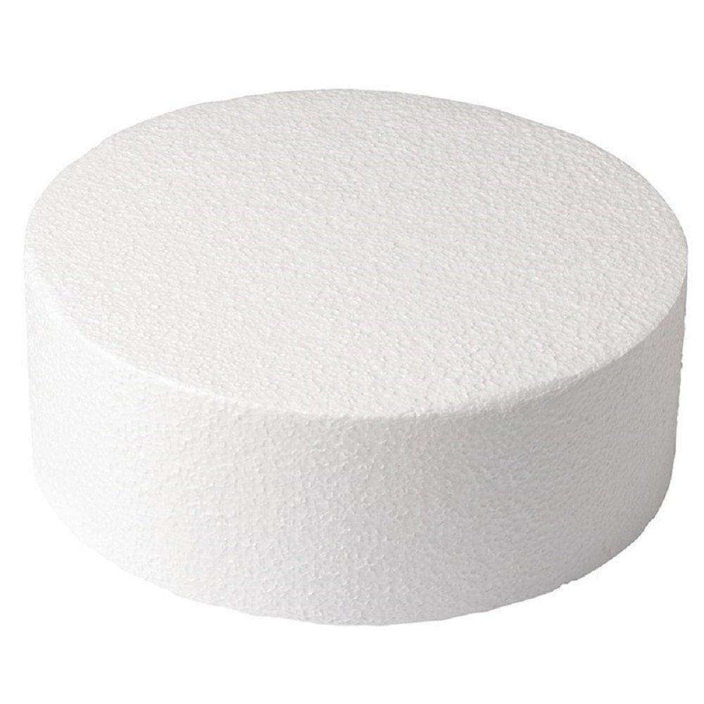 "View the 6"" round cake dummy - straight edge - 3"" deep online at Cake Stuff"