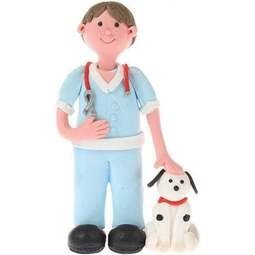 View the VET & DOG cake topper decoration online at Cake Stuff