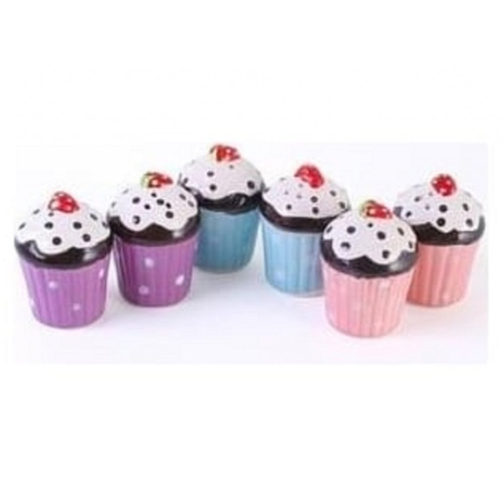 View the Cupcake Salt & Pepper Shakers - blue online at Cake Stuff