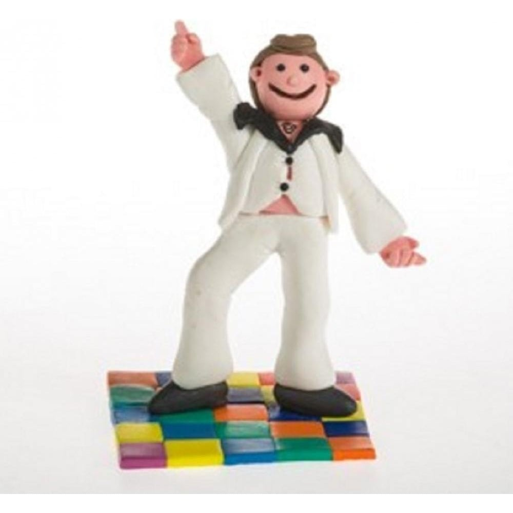 View the DANCING GUY / DAD cake topper decoration online at Cake Stuff