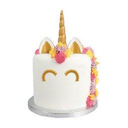 View the UNICORN 5 pc cake topper decoration DecoSet online at Cake Stuff