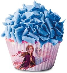 View the FROZEN II cupcake baking cases pk 25 online at Cake Stuff
