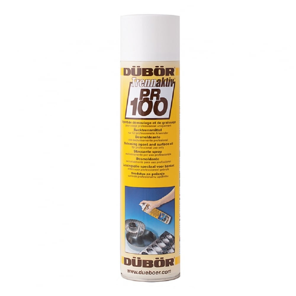 View the PR100 professional spray cake tin release 600ml online at Cake Stuff