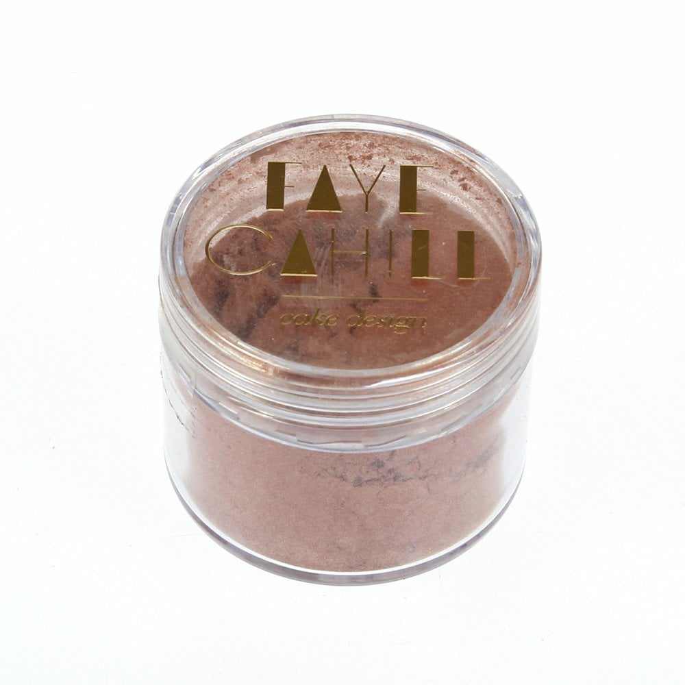 View the BLUSH ROSE GOLD 20ml luxury edible lustre dust icing colour online at Cake Stuff