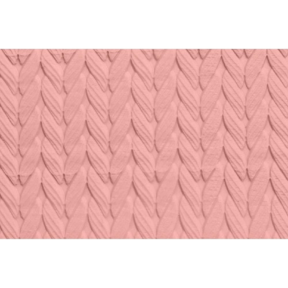 View the KNIT pattern embossed mini rolling pin 16.5cm online at Cake Stuff