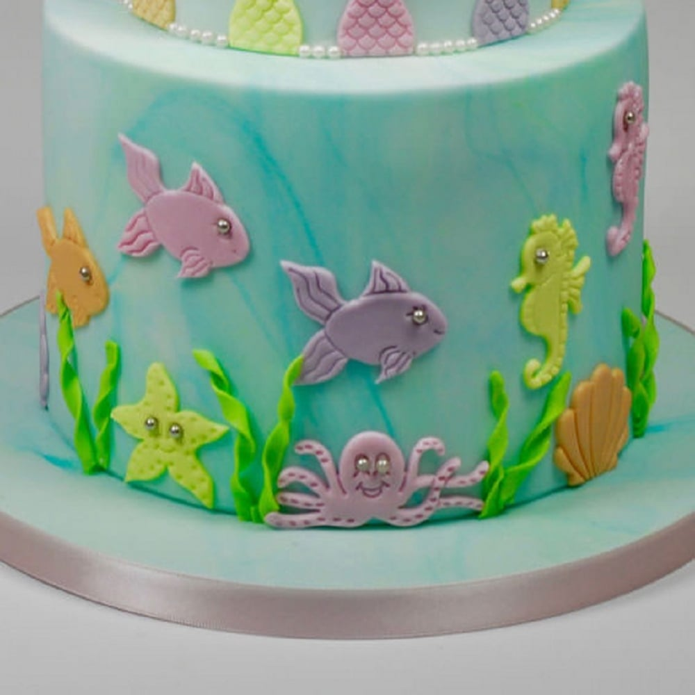 View the Under The Sea 5 pc icing & gumpaste cutter set online at Cake Stuff