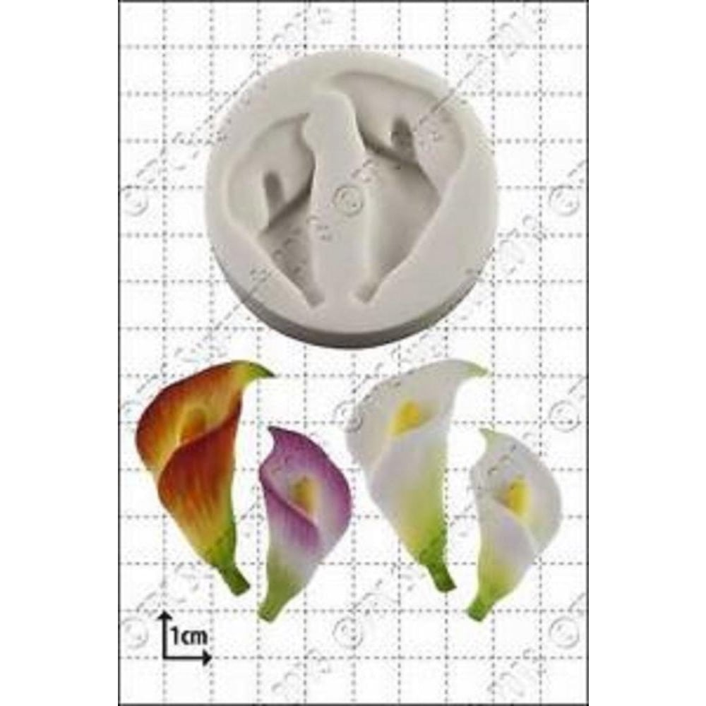 View the Calla Lilies silicone icing mould online at Cake Stuff