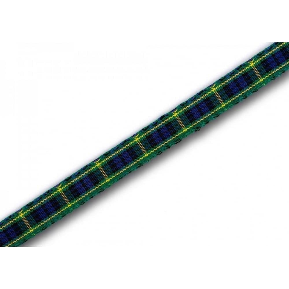 View the Gordon 7mm Scottish tartan plaid ribbon x 25m reel online at Cake Stuff