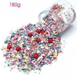 View the 180g COLOUR UP mix edible sugar sprinkle decorations online at Cake Stuff