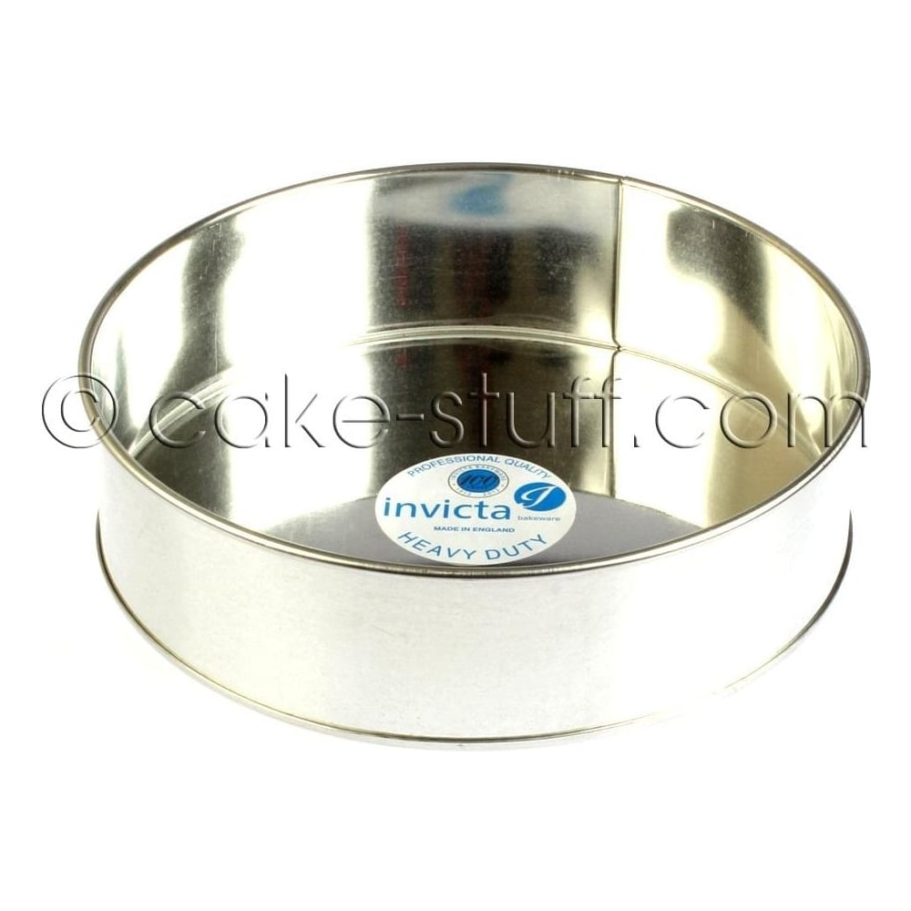 "View the 11"" / 279mm round professional cake tin online at Cake Stuff"