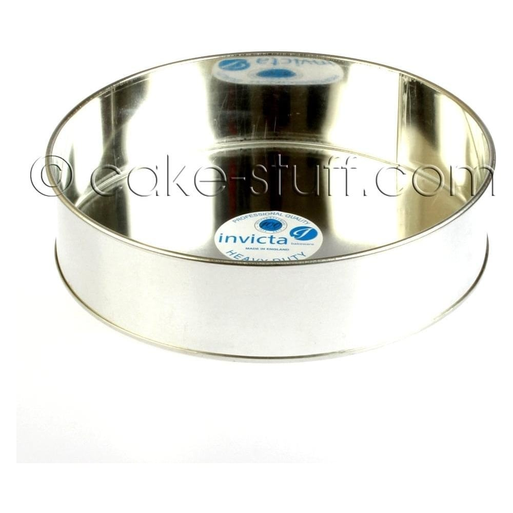 "View the 12"" / 304mm round professional cake tin online at Cake Stuff"
