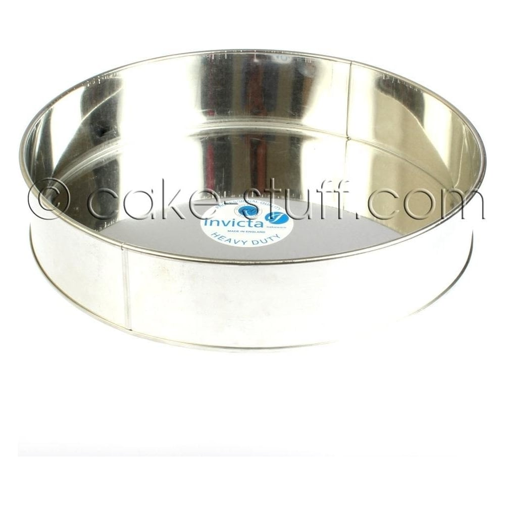"View the 14"" / 355mm round professional cake tin online at Cake Stuff"