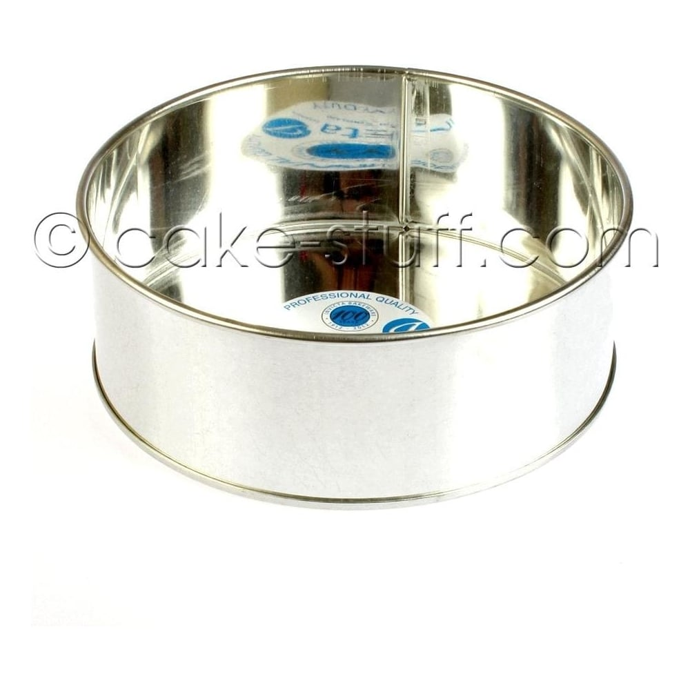 "View the 8"" / 203mm round professional cake tin online at Cake Stuff"