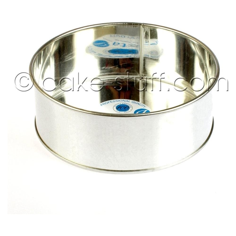 "View the 9"" / 228mm round professional cake tin online at Cake Stuff"
