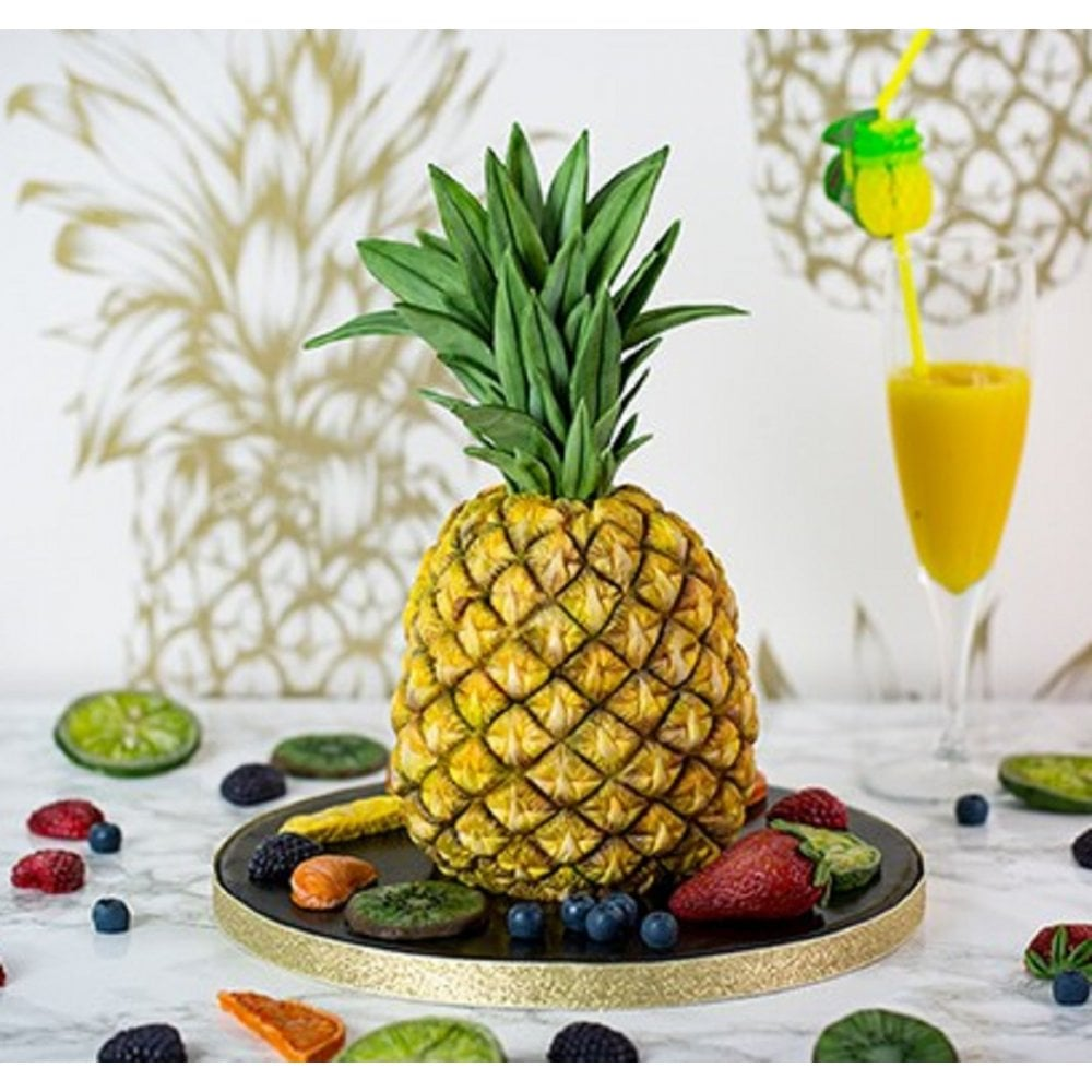 View the Tropical Pineapple silicone icing mould set online at Cake Stuff