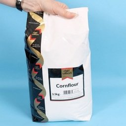 View the Cornflour / corn maize starch 3.5kg online at Cake Stuff