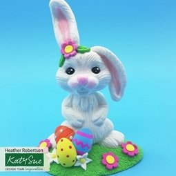 View the EASTER BUNNY silicone sugarcraft icing mould online at Cake Stuff