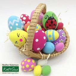 View the EASTER EGGS silicone sugarcraft icing mould online at Cake Stuff