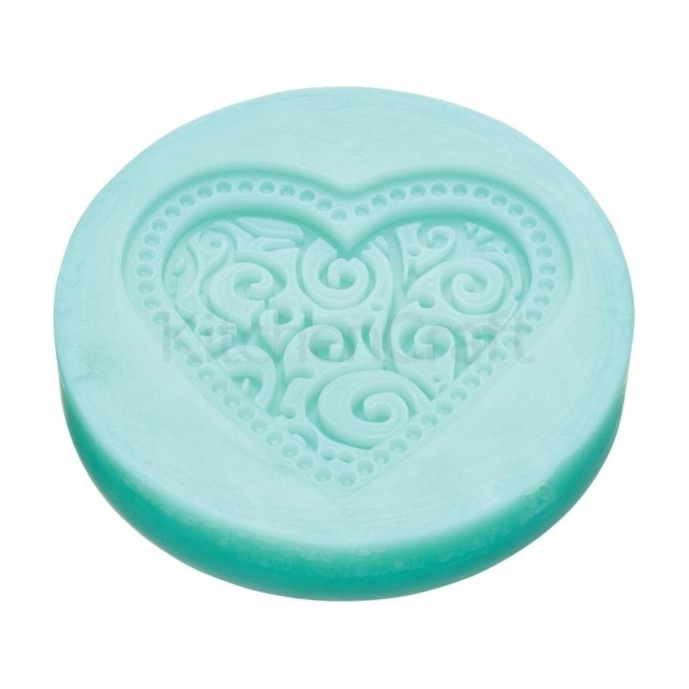 View the LOVE HEART silicone cupcake mould online at Cake Stuff