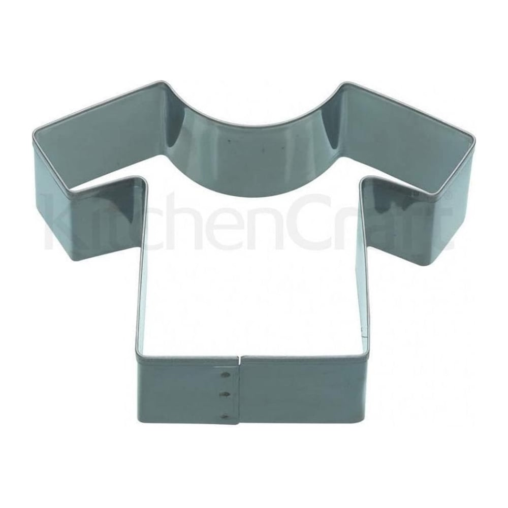 View the T SHIRT metal icing cookie cutter online at Cake Stuff