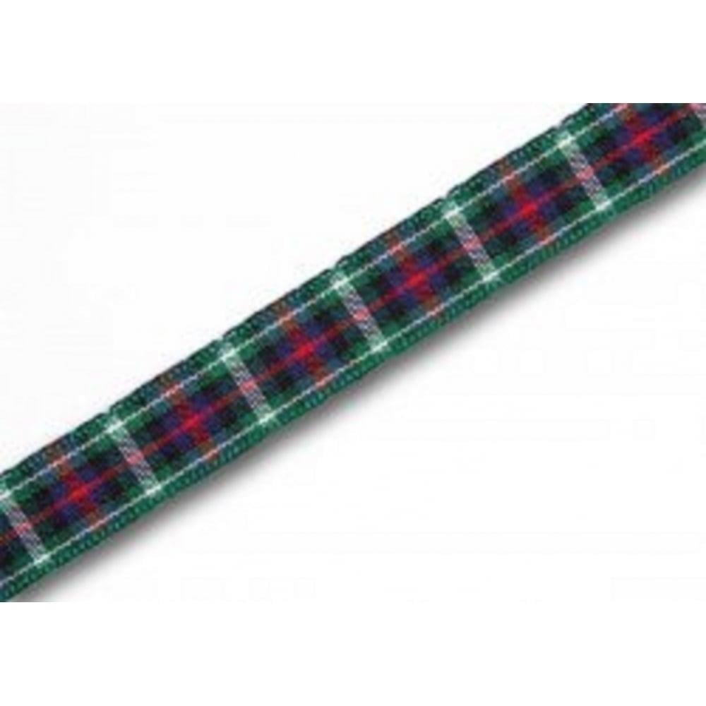 View the MacKenzie 10mm Scottish tartan plaid ribbon x 5m pack online at Cake Stuff