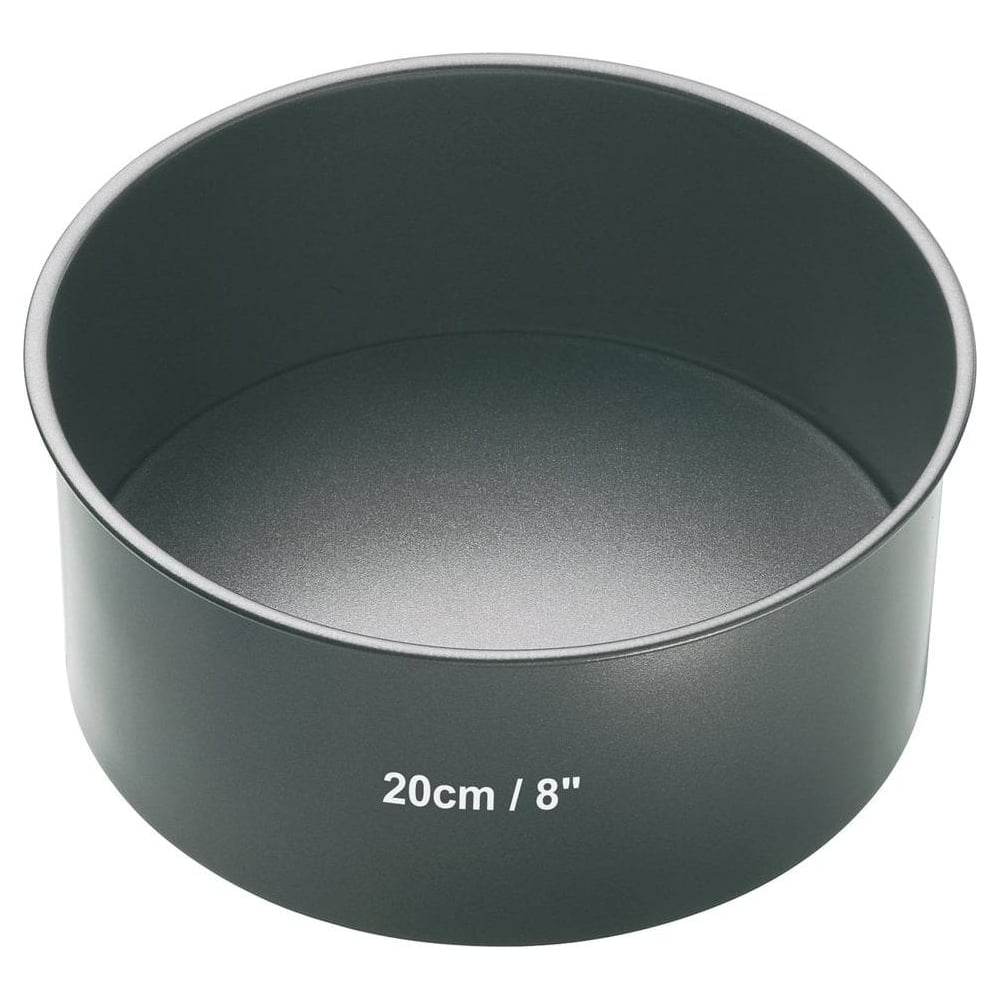 "View the 8"" / 20cm round non-stick loose base deep cake tin online at Cake Stuff"