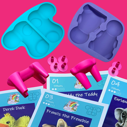 View the Molly's Creature Creator - ULTIMATE BUNDLE - all 4 sets online at Cake Stuff