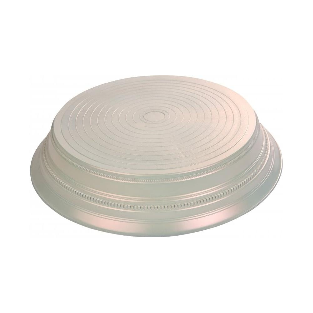 "View the PEARL ROUND 14"" wedding cake stand base plinth online at Cake Stuff"
