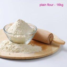 View the premium plain white flour - 16kg trade sack online at Cake Stuff