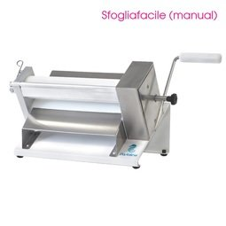 View the SFOGLIAFACILE professional manual sugarpaste sheeter online at Cake Stuff