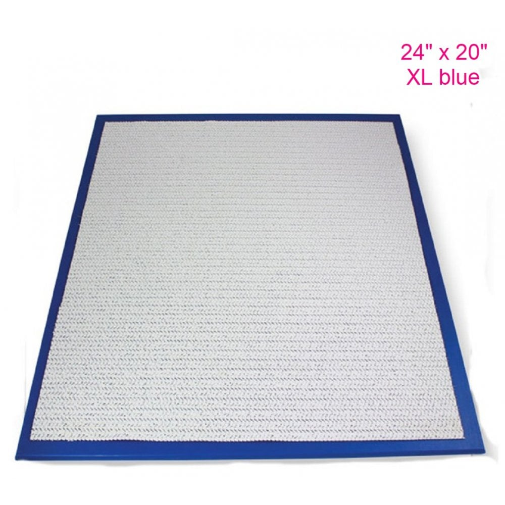 "View the 24"" x 20"" XL BLUE non-stick modelling work board online at Cake Stuff"