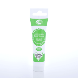 View the BRIGHT GREEN ProGel concentrated paste gel icing / food colouring 25g online at Cake Stuff