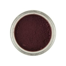 View the BURGUNDY Powder Colour 100% edible dust icing colouring 2g online at Cake Stuff