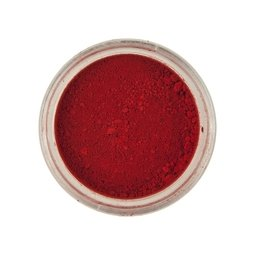 View the CHILLI RED Powder Colour 100% edible dust icing colouring 2g online at Cake Stuff