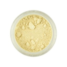 View the CREAM / IVORY Powder Colour 100% edible dust icing colouring 4g online at Cake Stuff