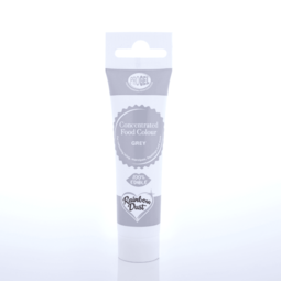 View the GREY ProGel concentrated paste gel icing / food colouring 25g online at Cake Stuff