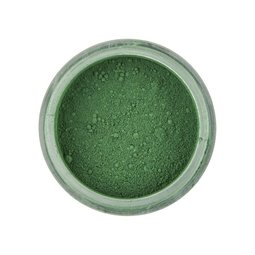 View the HOLLY GREEN Powder Colour 100% edible dust icing colouring 3g online at Cake Stuff