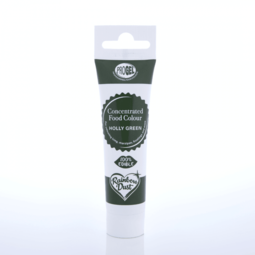 View the HOLLY GREEN ProGel concentrated paste gel icing / food colouring 25g online at Cake Stuff