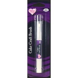 View the METALLIC PURPLE Craft Brush edible icing paint online at Cake Stuff