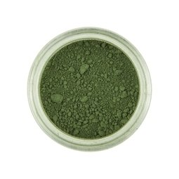 View the MOSS GREEN Powder Colour 100% edible dust icing colouring 2g online at Cake Stuff
