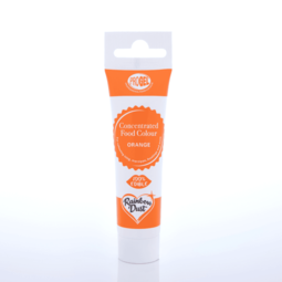 View the ORANGE ProGel concentrated paste gel icing / food colouring 25g online at Cake Stuff