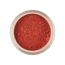 View the POPPY RED Powder Colour 100% edible dust icing colouring 2g online at Cake Stuff