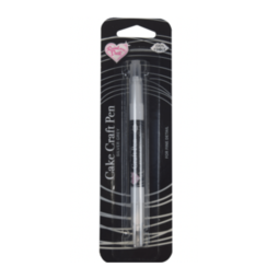 View the SILVER GREY cake craft double-ended edible ink icing colouring pen online at Cake Stuff