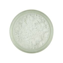 View the SNOWDRIFT WHITE 100% edible Powder Colour icing dust colouring 4g online at Cake Stuff