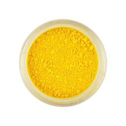 View the SUNSET YELLOW Powder Colour 100% edible dust icing colouring 2g online at Cake Stuff