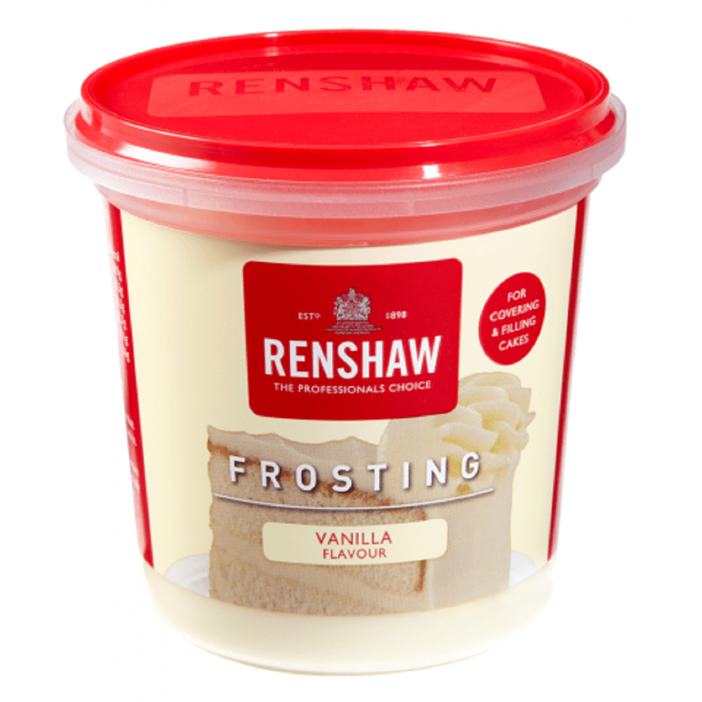 View the Vanilla Frosting - ready to use 400g online at Cake Stuff
