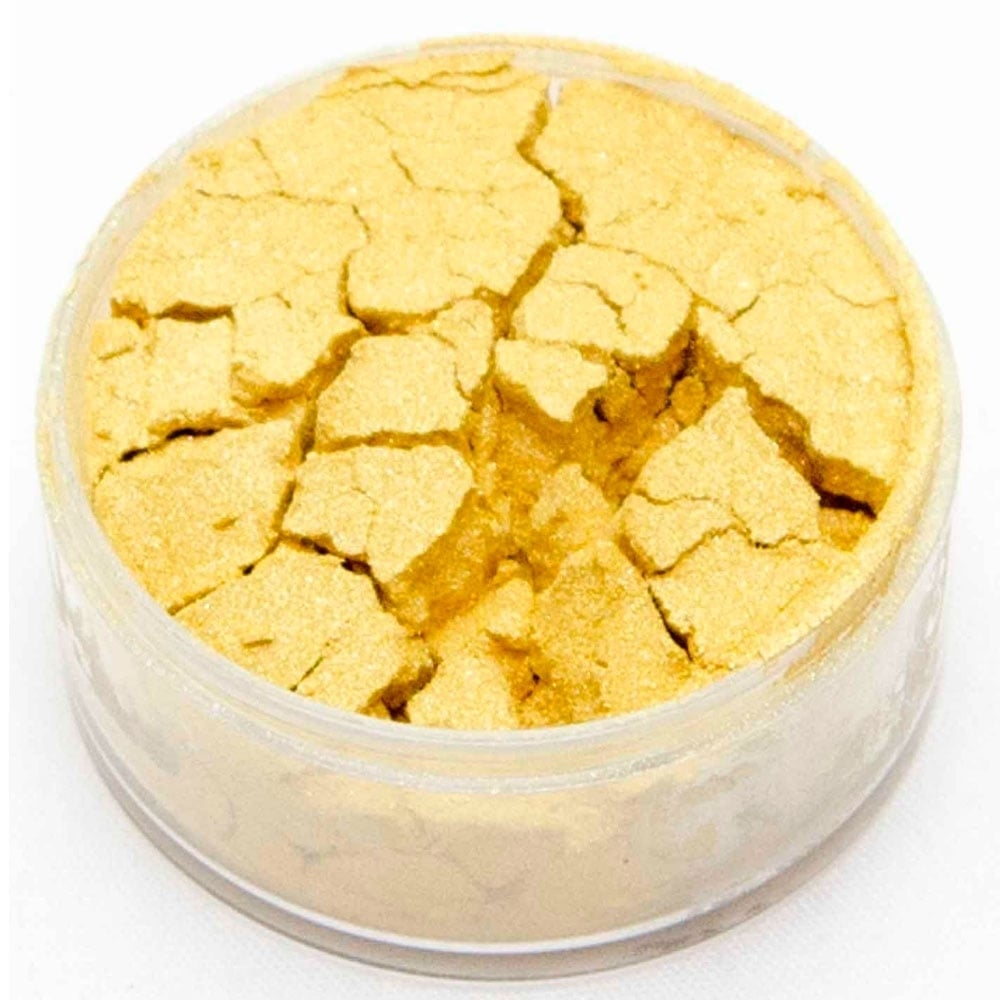 View the MAJESTIC GOLD SUPER 10ml non-edible lustre metallic dust icing colour online at Cake Stuff