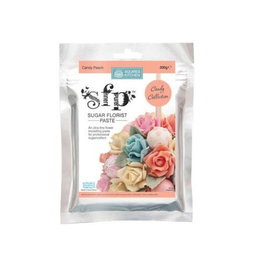 View the CANDY PEACH Sugar Florist Paste SFP flower modelling paste 200g online at Cake Stuff