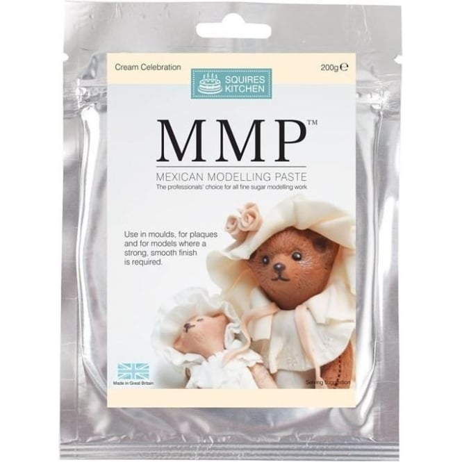 View the CREAM Celebration Mexican Modelling Paste MMP 200g online at Cake Stuff