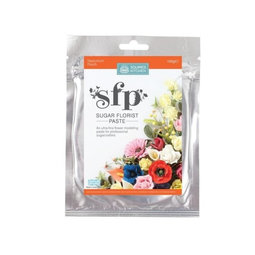 View the NASTURTIUM PEACH Sugar Florist Paste SFP flower modelling paste 100g online at Cake Stuff